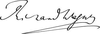 349px-Richard_Wagner_Signature.svg