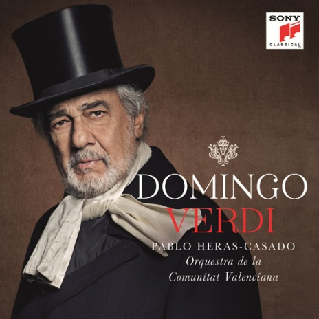 Placido Domingo - Verdi Album Cover