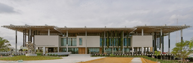 PAMM, south facade. Iwan Baan. 2