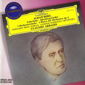 Berg - Obras Orquestales - Abbado - OSL - Portada