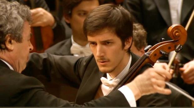Semyon Bychkov y Bruno Delepelaire en la Filarmónica de Berlin