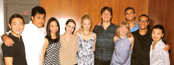 Joshua Bell and alumni