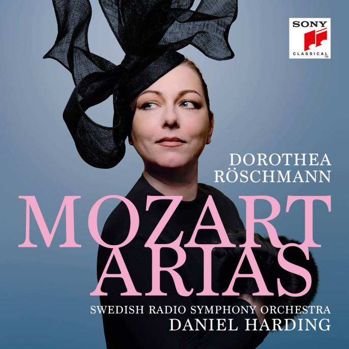 Dorothea Röschmann_Mozart Arias_Cover