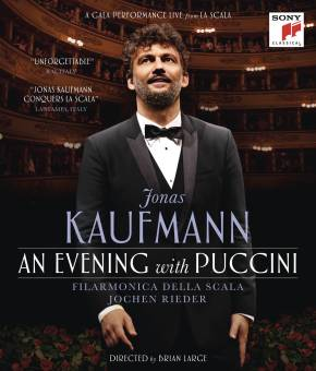 Jonas Kaufmann_An Evening with Puccini DVD_cover