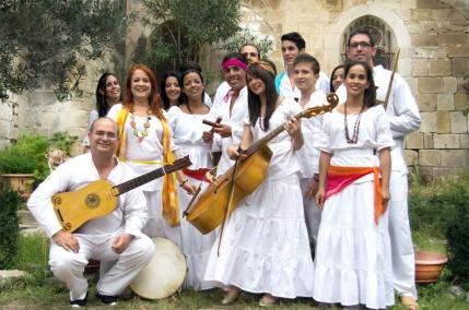 Conjunto de Musica Antigua Ars Longa (Cuba), dir. Teresa Paz - Concert à Lodève (Hérault) le 28-09-2014