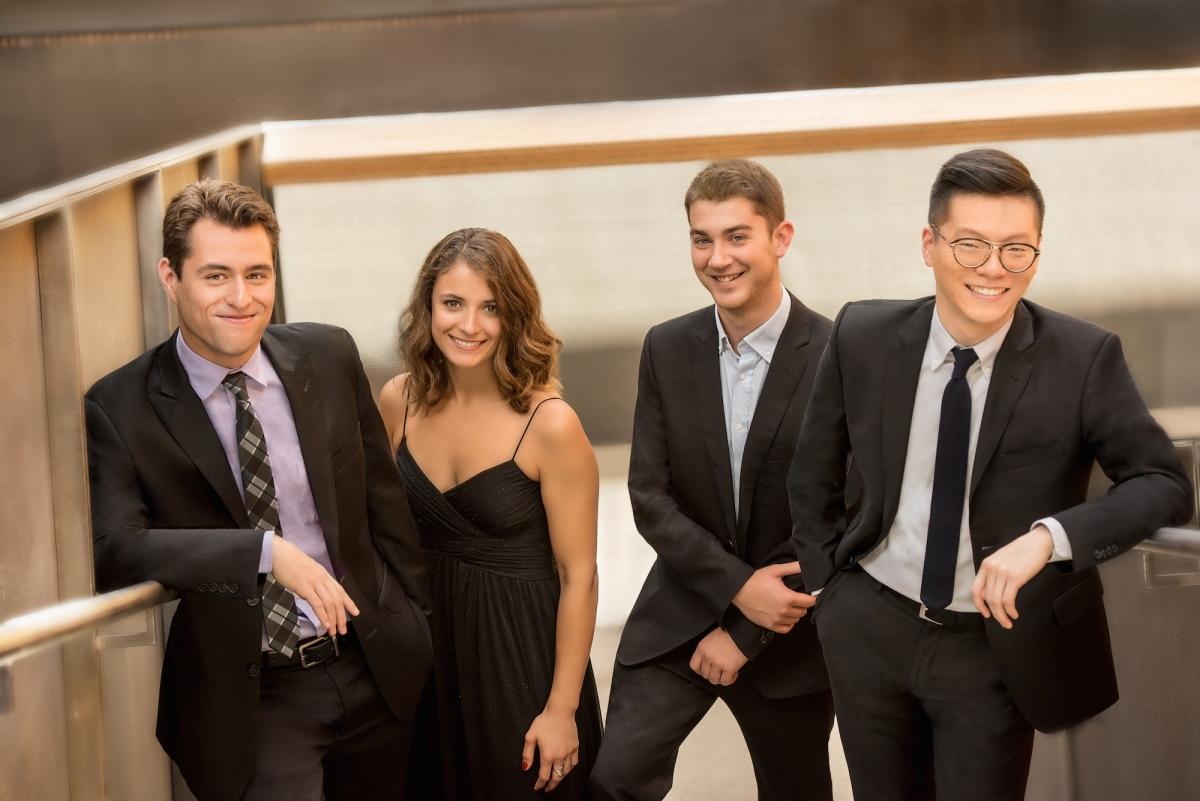 Fiterstein y el Dover Quartet, incandescencia pura