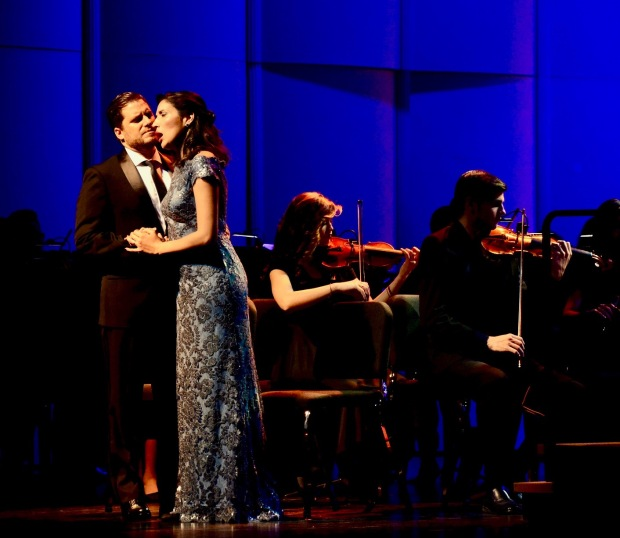 "Maria Antúnez y Martin Nusspaumer, solistas de ""Lyrical Moments"""