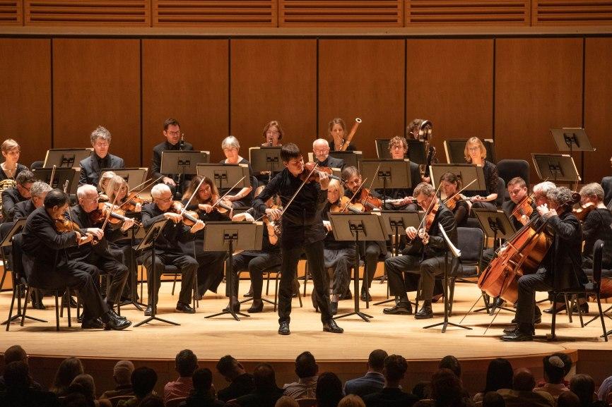 Joshua Bell y Academy St.Martin in the Fields, foto Daniel Azoulay